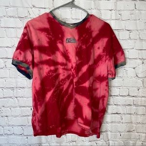 Vintage Nike reverse tie-dye crop T size XL